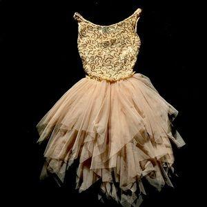 Beige Dance Costume | Medium Child | Weissman